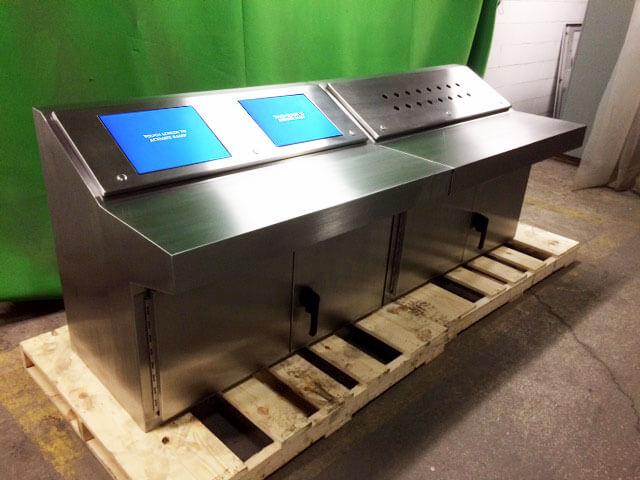 outdoor touch kiosks