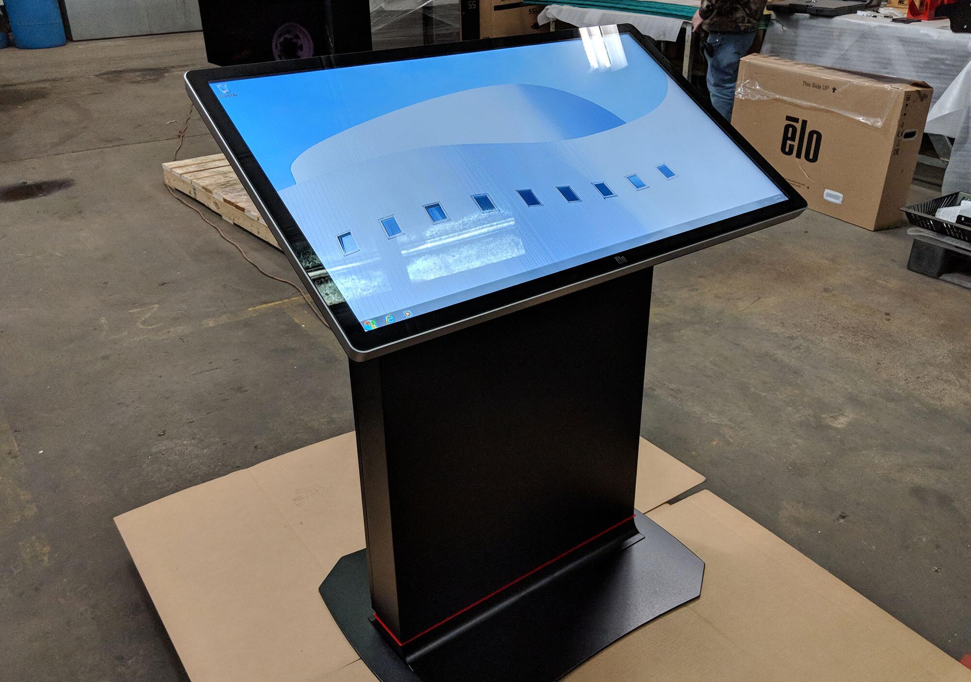 touch kiosks